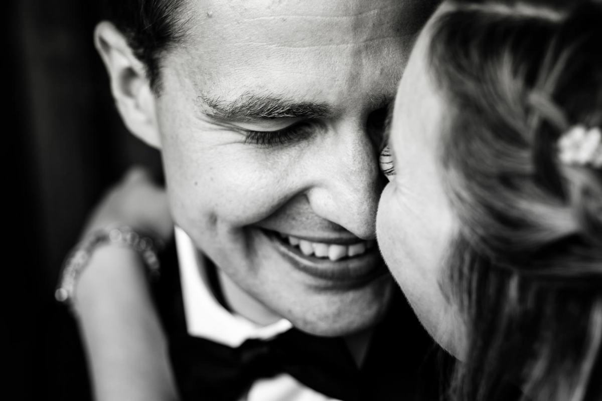 Hochzeitsbilder ungestellt und natürlich